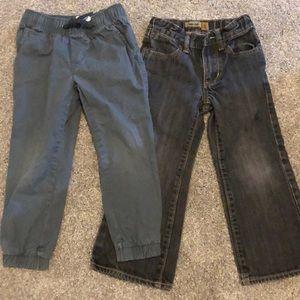 2 pairs size 5 pants/jeans